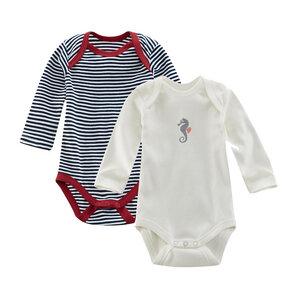 Baby-Body Langarm 2er-Pack ELM - Living Crafts