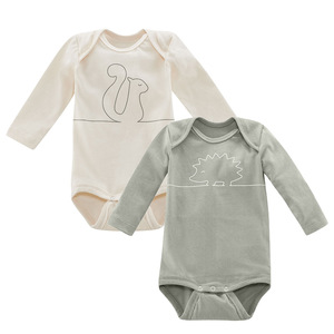 Baby Body Langarm 2er Pack DABBLE - Living Crafts