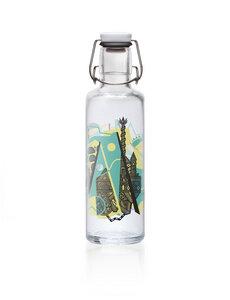 soulbottle 0,6l • Glastrinkflasche • 100% plastikfrei • 'Aquädukt' - soulbottles