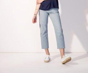 White Doppelsohle Sneakers - Jutelaune