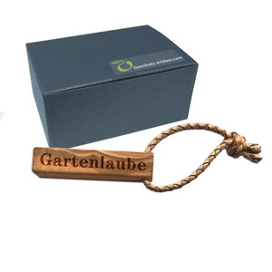 Schlüsselanhänger Olivenholz inkl. Garvur / Geschenkebox - Olivenholz erleben