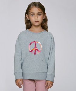 Sweatshirt mit Motiv / Peace - Kultgut