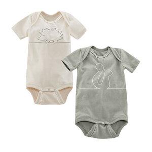 Baby Body Kurzarm 2er Pack DORI - Living Crafts