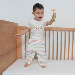 Baby Body Kurzarm CITRON - Living Crafts