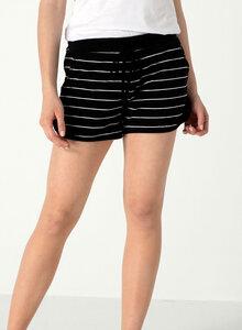Gestreifte Jersey-Shorts aus Bio Baumwolle - ORGANICATION