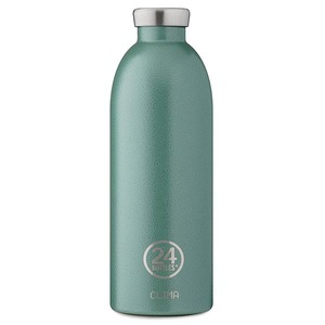 0,85l Thermosflasche Moss Green - 24bottles