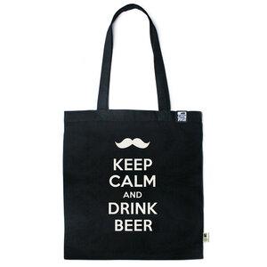 Baumwolltasche Keep calm and drink Beer - Gary Mash