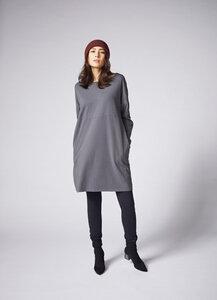 Langarmshirt Dina in der Farbe Grau für Damen - Lana