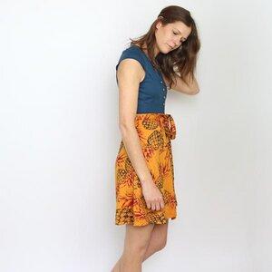 Kleid Charlotte Navy aus Modal®-Mix - Gary Mash