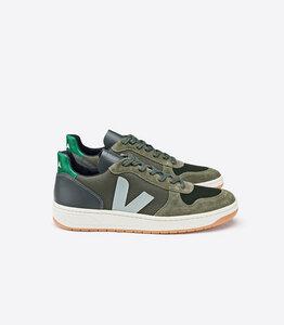 Sneaker - V10 B-MESH - MULTICO OLIVE EMERAUDE - Veja