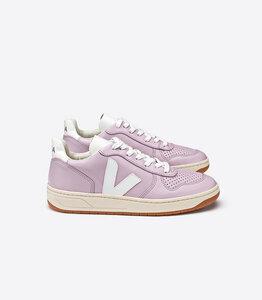 Sneaker Damen - V-10 Leather - Lilas White - Veja