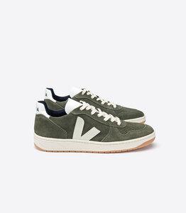 Sneaker - V10 SUEDE OLIVE PIERRE - Veja