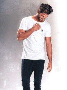 Slim Fit T-Shirt White - Dressed People