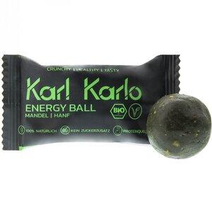Veganer Energy Mandel/Hanf Ball - Karl Karlo