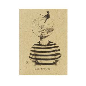 Postkartenset Graspapier - 'Sophie' 5 Stück - Matabooks