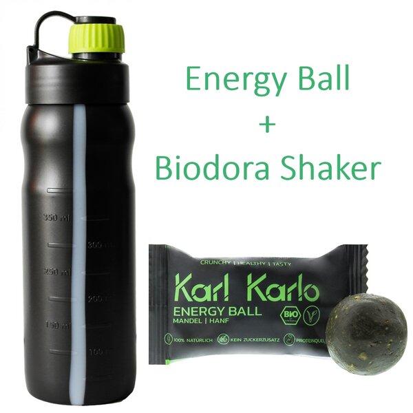 Protein Shaker Das Ding Des Jahres: Fitnesset Shaker 0,5 Liter Mit Energy Ball