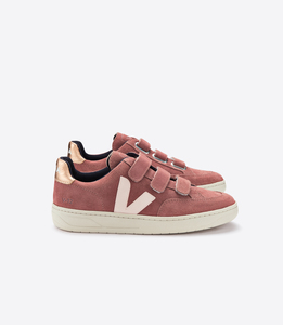 Sneaker - V-12 VELCRO SUEDE - DRIED PETAL VENUS - Veja