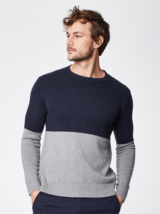 Strickpullover - KADE JUMPER - Blau - Thought | Braintree