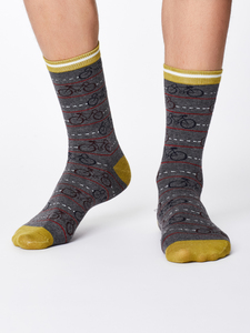 Socken - CYCLE SOCKS - Mid Grey Marle - Thought | Braintree