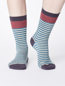 Socken - WALLA SOCKS - River Blue - Thought | Braintree
