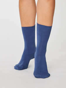 Socken - REPEAT SOLID JACKIE SOCKS - Denim - Thought | Braintree