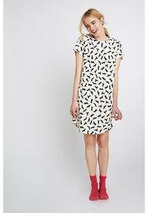 Cat Short Sleeve Nightdress - People Tree