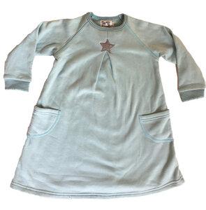 "Kleid  ""Stern"" , 100 % Baumwolle (kbA) - PAT & PATTY"