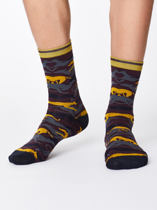 Socken - WHIPPET SOCKS - Aubergine - Thought | Braintree
