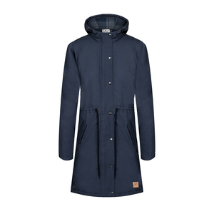 Guerilla Thermal Parka Damen Navy - bleed