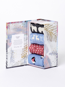 Socken - CHRISTMAS ANIMALS SOCK BOX - Thought | Braintree