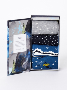 Socken - SKIING SOCK BOX - blau - Thought | Braintree