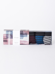 Boxershorts - STRIP BOXER GIFT BOX - Thought | Braintree