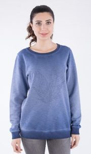 Sweatshirt aus Bio Baumwolle in Cold Pigment Dye - ORGANICATION