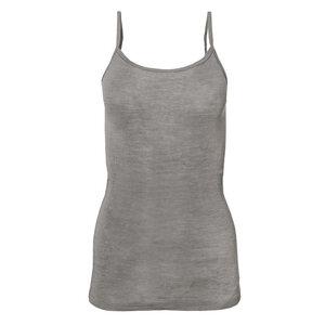 Trägertop Wolle/Seide - grau - People Wear Organic