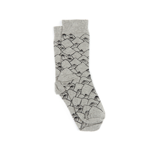 Polar Mountain Socken Grau - bleed