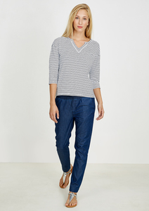 Denim Slim Pants dark blue - recolution