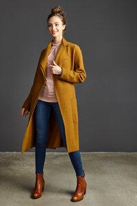 Damen Mantel Coat Tallulah X - Madras - LangerChen