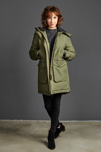 Winterjacke - Parka Norwood - Military - LangerChen