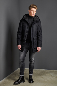 Winterjacke - Parka Havelock - Black - LangerChen