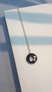 Beton Halskette MARY | Black Silver - Concrete Jungle | Betonmanufaktur
