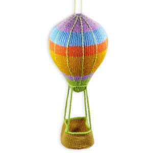 Heißluftballon-Mobile als Geburtsgeschenk oder zur Babyshower - Chill n Feel