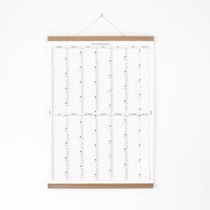 Der A2 Wandkalender 2019 mit Posterleiste - Kleinwaren / von Laufenberg