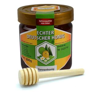 Echter Deutscher Honig | Tannenhonig | Hergestellt in Deutschland - 4betterdays