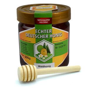 Echter Deutscher Honig | Waldhonig | Hergestellt in Deutschland - 4betterdays