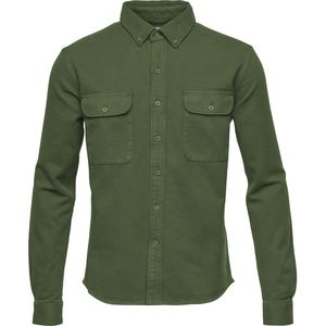 Heavy Twill Shirt GOTS Hemd Jacke - KnowledgeCotton Apparel