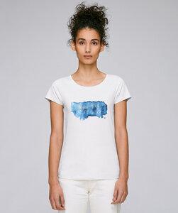 Basic T-Shirt mit Motiv / Stück Glück - Kultgut
