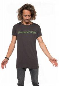 T-Shirt #WORLDCHANGER - Erdbär