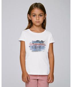 T-Shirt mit Motiv / Flamingos - Kultgut