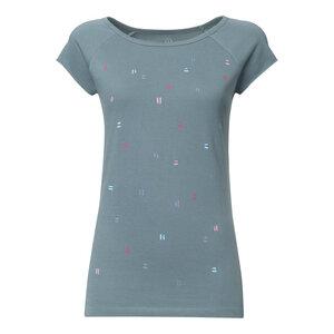 T-Shirt Damen hellblau Bio & Fair // TT01 Cap Sleeve Damen // Dips - THOKKTHOKK