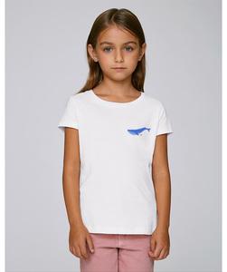 T-Shirt mit Motiv / Blauwal - Kultgut